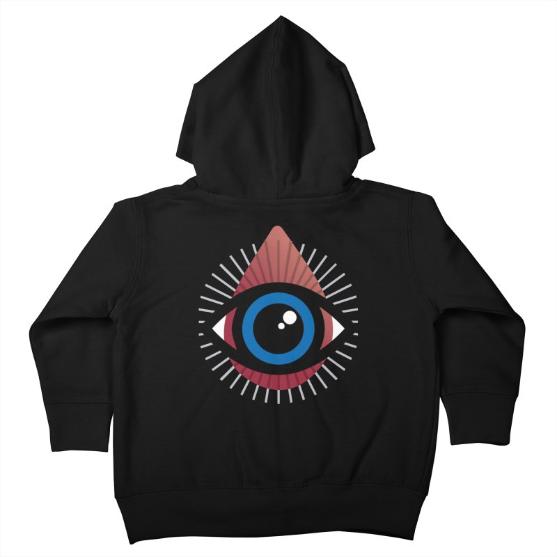 Isolated Tribal Eye for an Eye Kids Toddler Zip-Up Hoody by Eye for an Eye Merch Shop