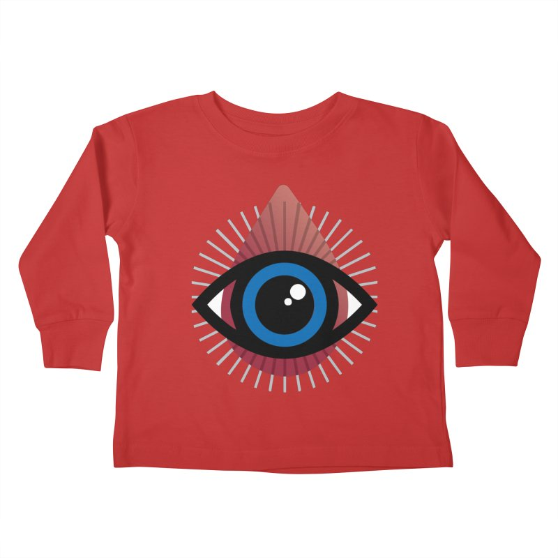 Isolated Tribal Eye for an Eye Kids Toddler Longsleeve T-Shirt by Eye for an Eye Merch Shop