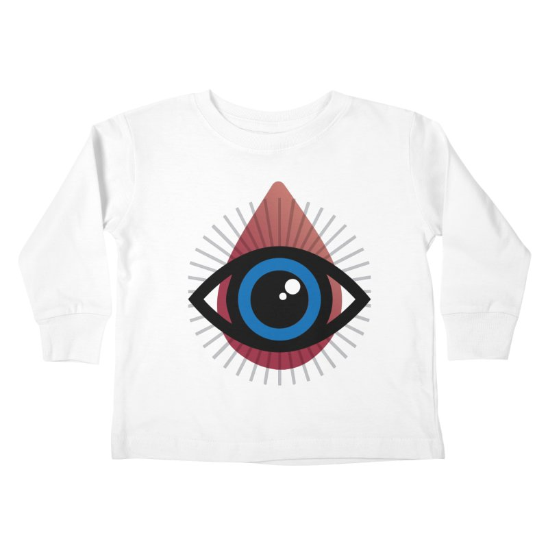 Isolated Tribal Eye for an Eye Kids Toddler Longsleeve T-Shirt by Eye for an Eye Merch Shop