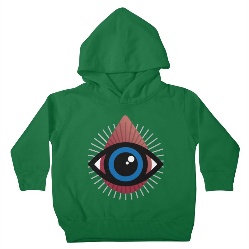 Isolated Tribal Eye for an Eye Kids Toddler Pullover Hoody by Eye for an Eye Merch Shop