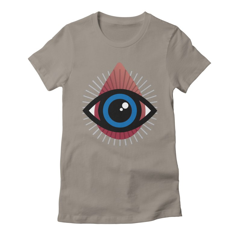 Isolated Tribal Eye for an Eye Women's Fitted T-Shirt by Eye for an Eye Merch Shop