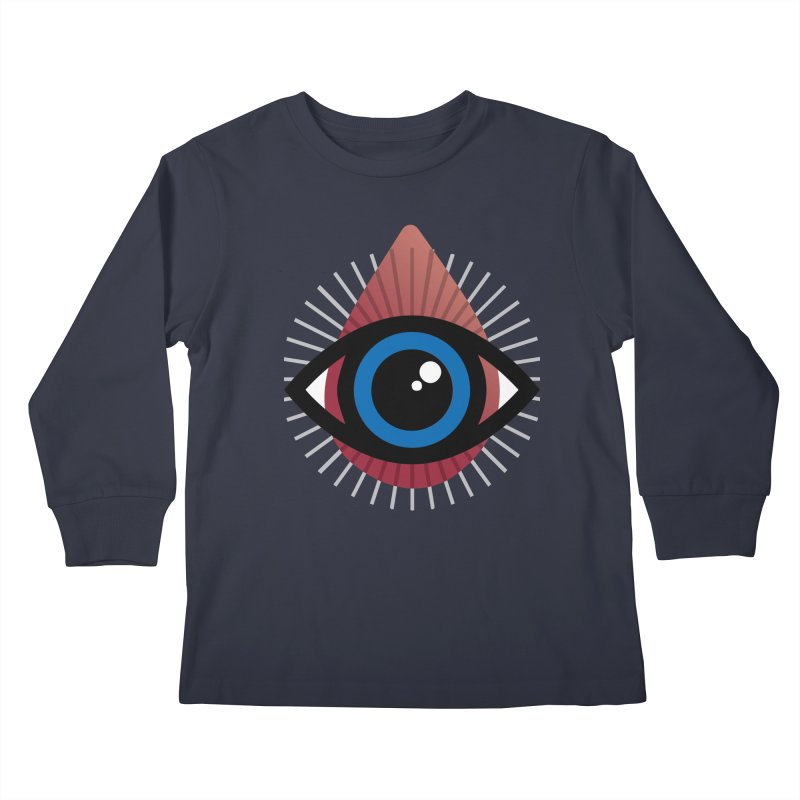 Isolated Tribal Eye for an Eye Kids Longsleeve T-Shirt by Eye for an Eye Merch Shop