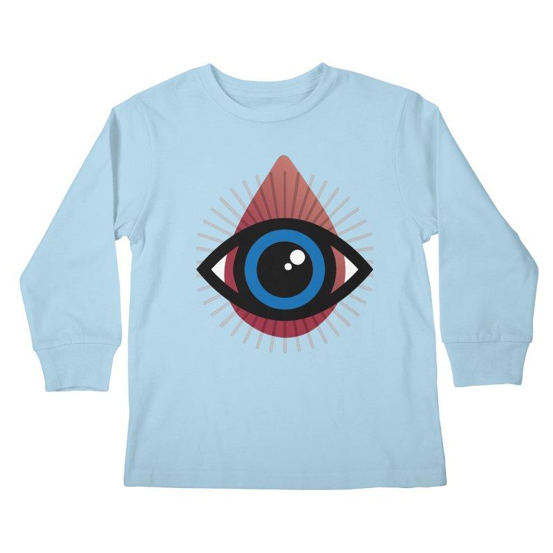 Isolated Tribal Eye for an Eye Kids Longsleeve T-Shirt by Eye for an Eye Merch Shop