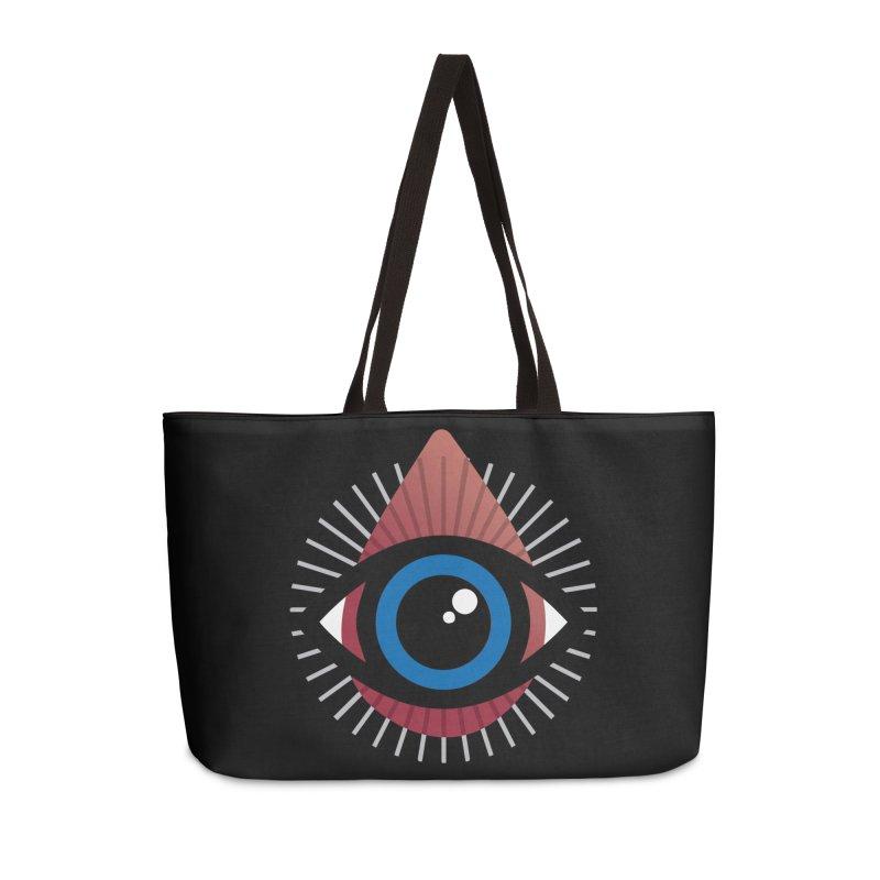 Isolated Tribal Eye for an Eye Accessories Weekender Bag Bag by Eye for an Eye Merch Shop