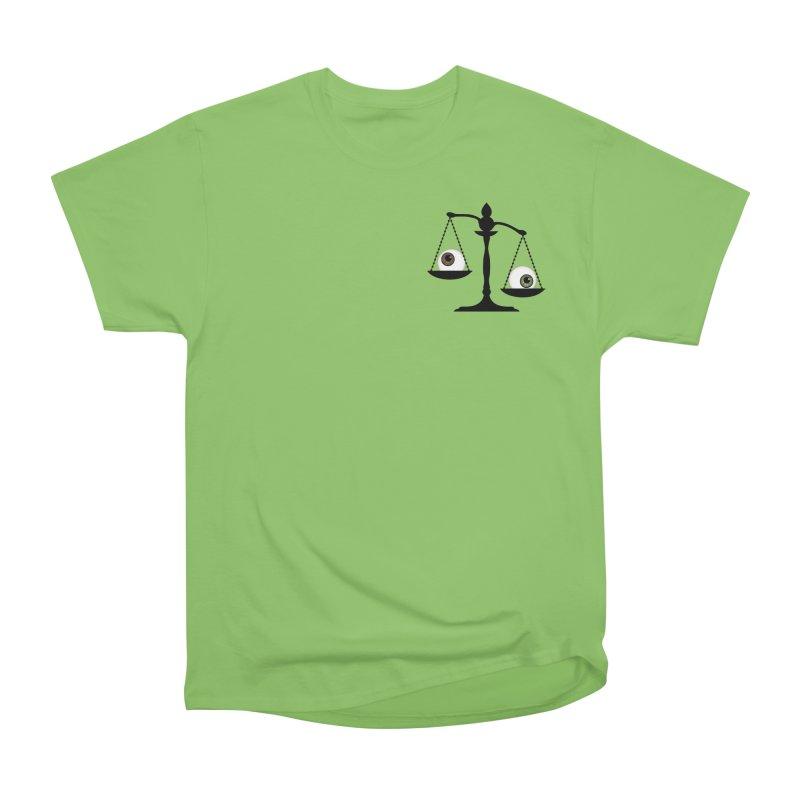 Pocket Sized Scale Men's Heavyweight T-Shirt by Eye for an Eye Merch Shop