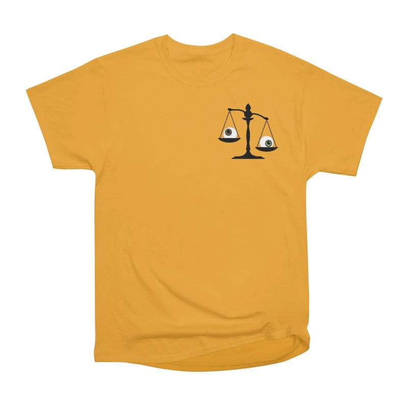 Pocket Sized Scale Women's Heavyweight Unisex T-Shirt by Eye for an Eye Merch Shop