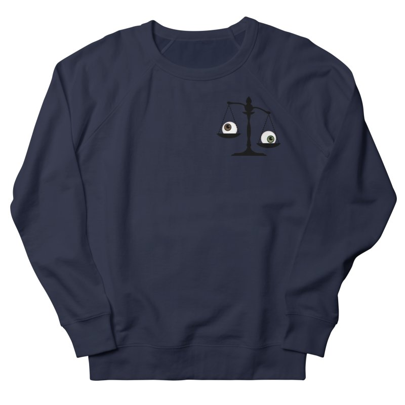 Pocket Sized Scale Women's French Terry Sweatshirt by Eye for an Eye Merch Shop