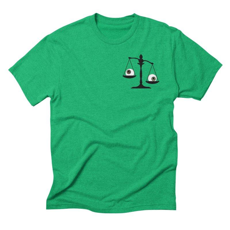 Pocket Sized Scale Men's Triblend T-Shirt by Eye for an Eye Merch Shop