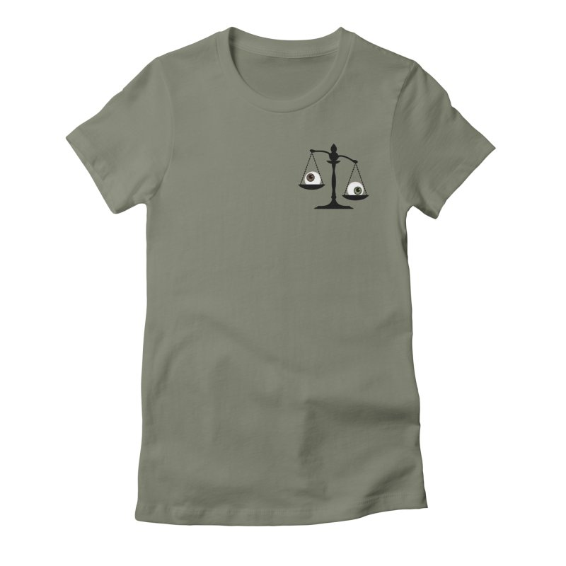 Pocket Sized Scale Women's Fitted T-Shirt by Eye for an Eye Merch Shop
