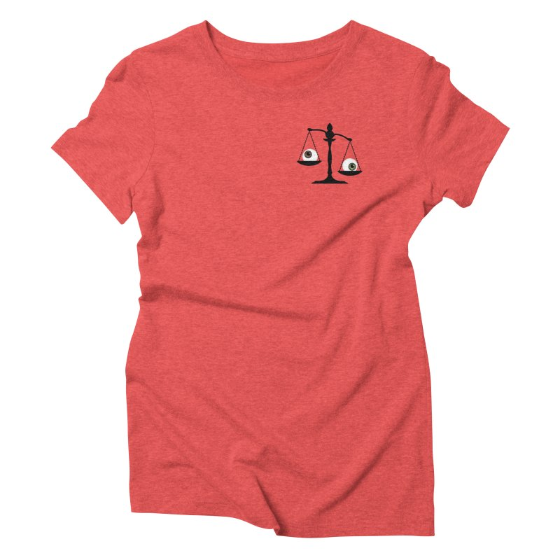 Pocket Sized Scale Women's Triblend T-Shirt by Eye for an Eye Merch Shop