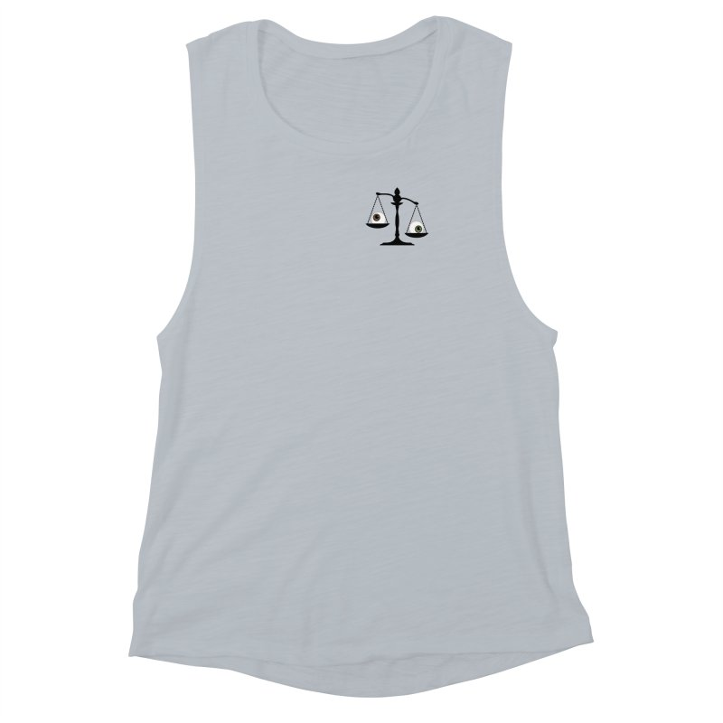 Pocket Sized Scale Women's Muscle Tank by Eye for an Eye Merch Shop