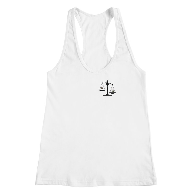 Pocket Sized Scale Women's Racerback Tank by Eye for an Eye Merch Shop
