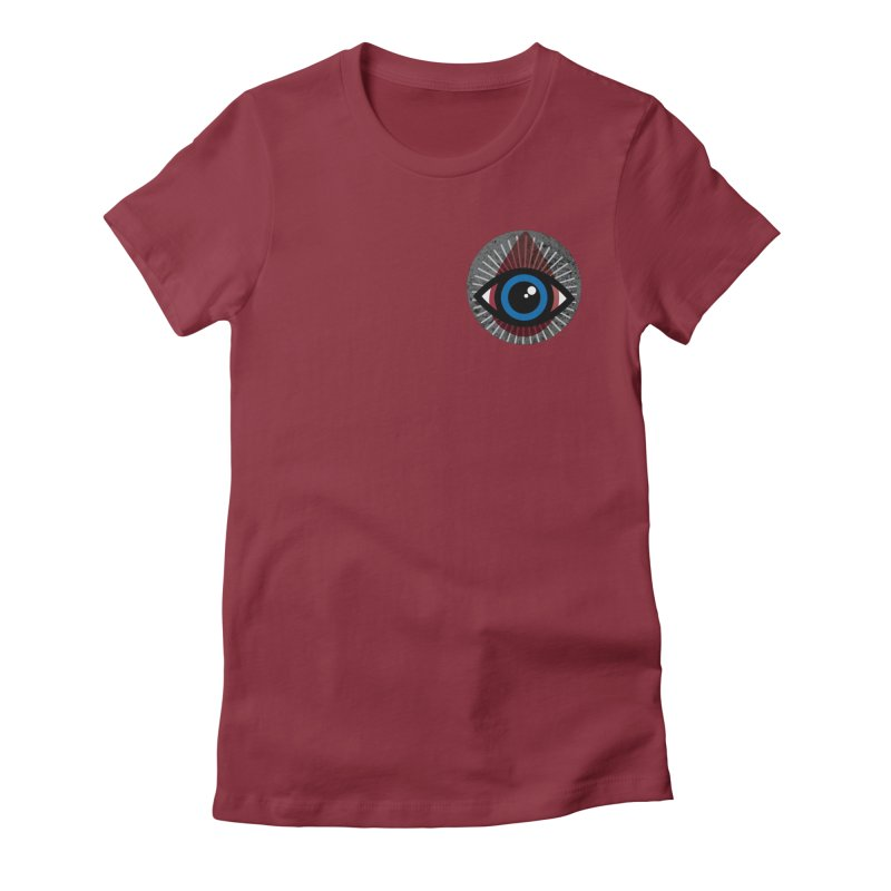 Tribal Pocket Size Women's Fitted T-Shirt by Eye for an Eye Merch Shop