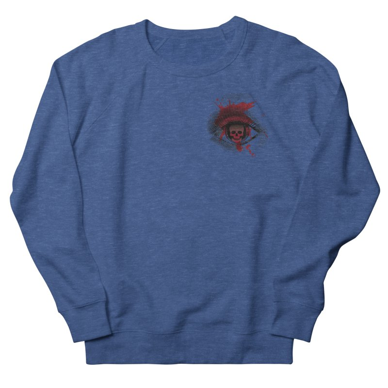 Bloodshot Pocket Sized Men's Sweatshirt by Eye for an Eye Merch Shop