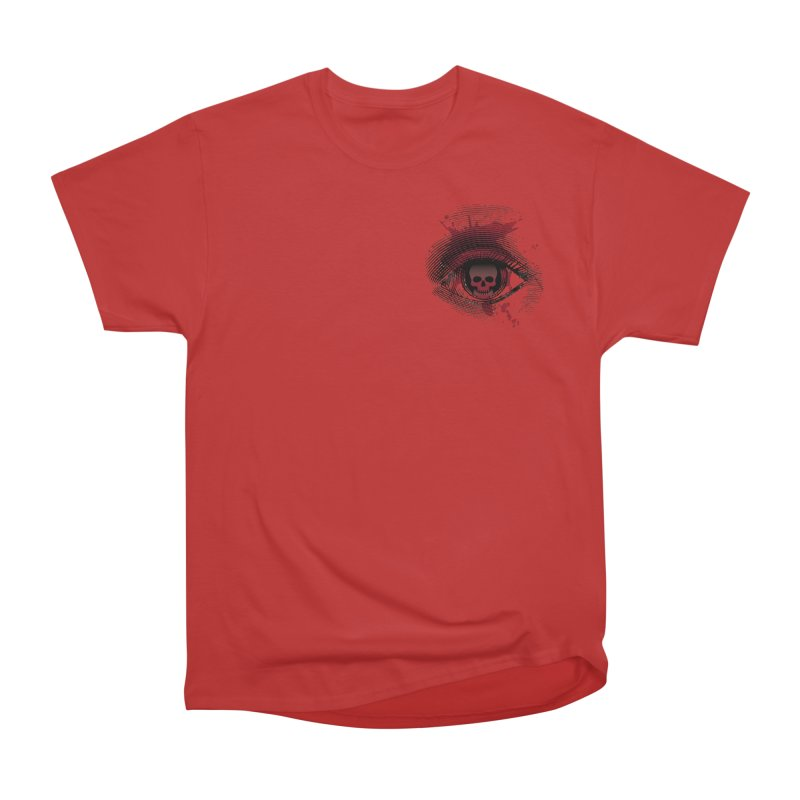 Bloodshot Pocket Sized Men's Heavyweight T-Shirt by Eye for an Eye Merch Shop