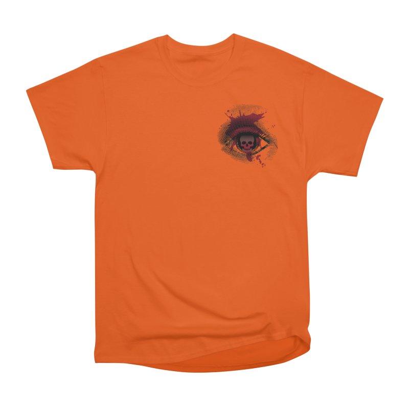 Bloodshot Pocket Sized Women's Heavyweight Unisex T-Shirt by Eye for an Eye Merch Shop