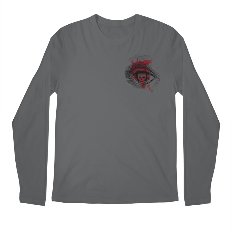 Bloodshot Pocket Sized Men's Regular Longsleeve T-Shirt by Eye for an Eye Merch Shop