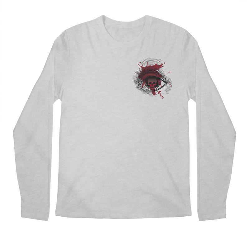 Bloodshot Pocket Sized Men's Regular Longsleeve T-Shirt by Eye for an Eye Merch Shop