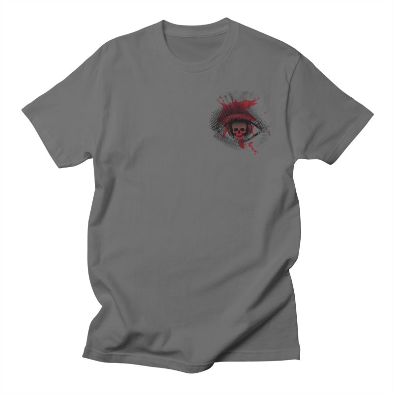 Bloodshot Pocket Sized Men's T-Shirt by Eye for an Eye Merch Shop