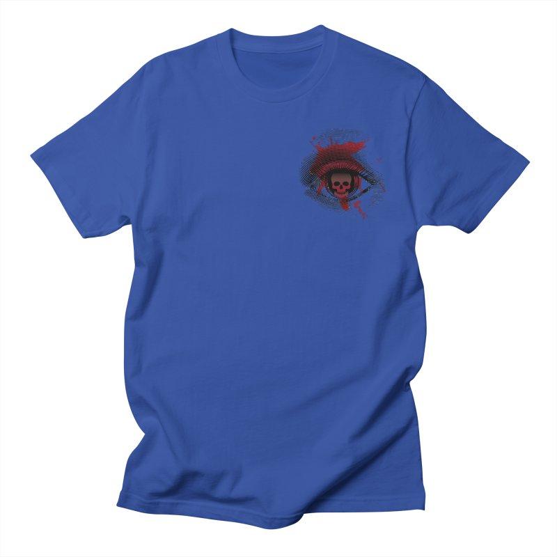 Bloodshot Pocket Sized Women's Regular Unisex T-Shirt by Eye for an Eye Merch Shop