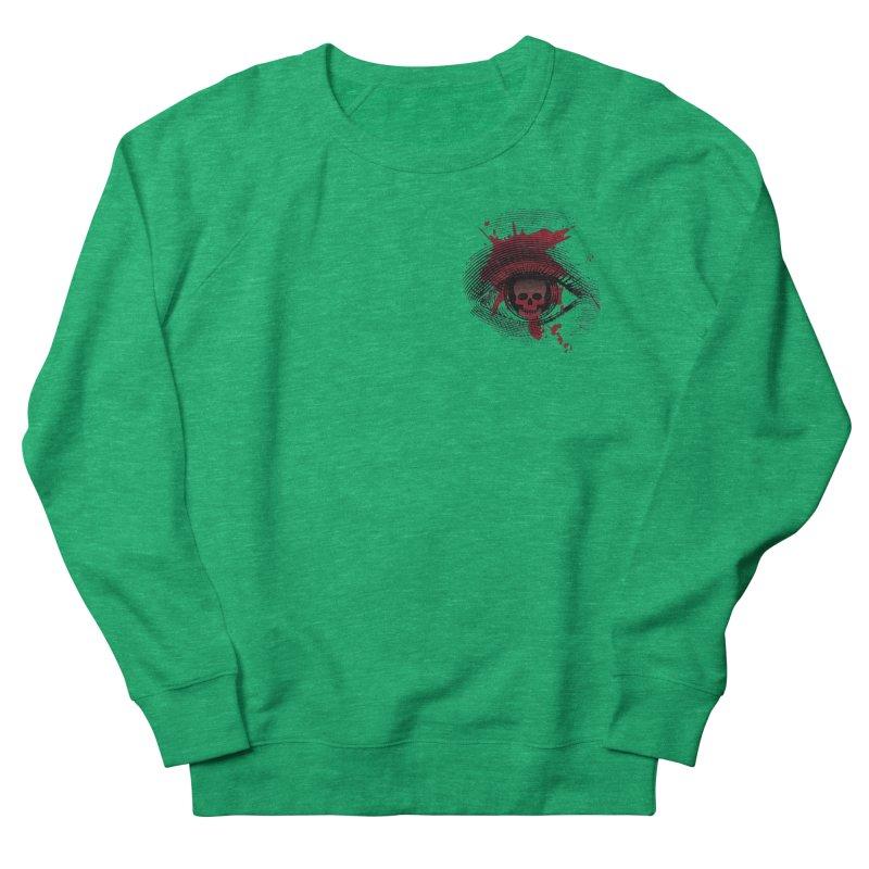 Bloodshot Pocket Sized Women's French Terry Sweatshirt by Eye for an Eye Merch Shop