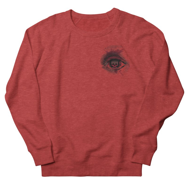 Bloodshot Pocket Sized Men's French Terry Sweatshirt by Eye for an Eye Merch Shop