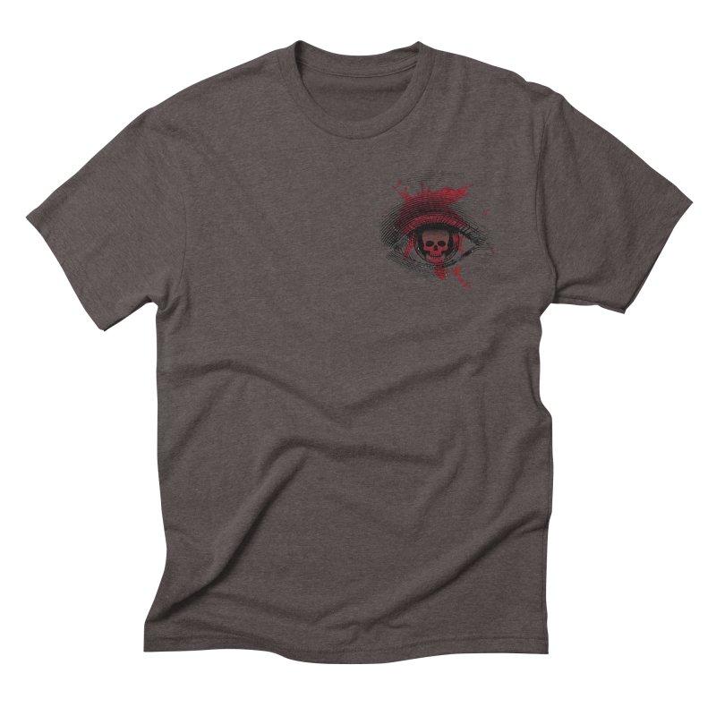 Bloodshot Pocket Sized Men's Triblend T-Shirt by Eye for an Eye Merch Shop