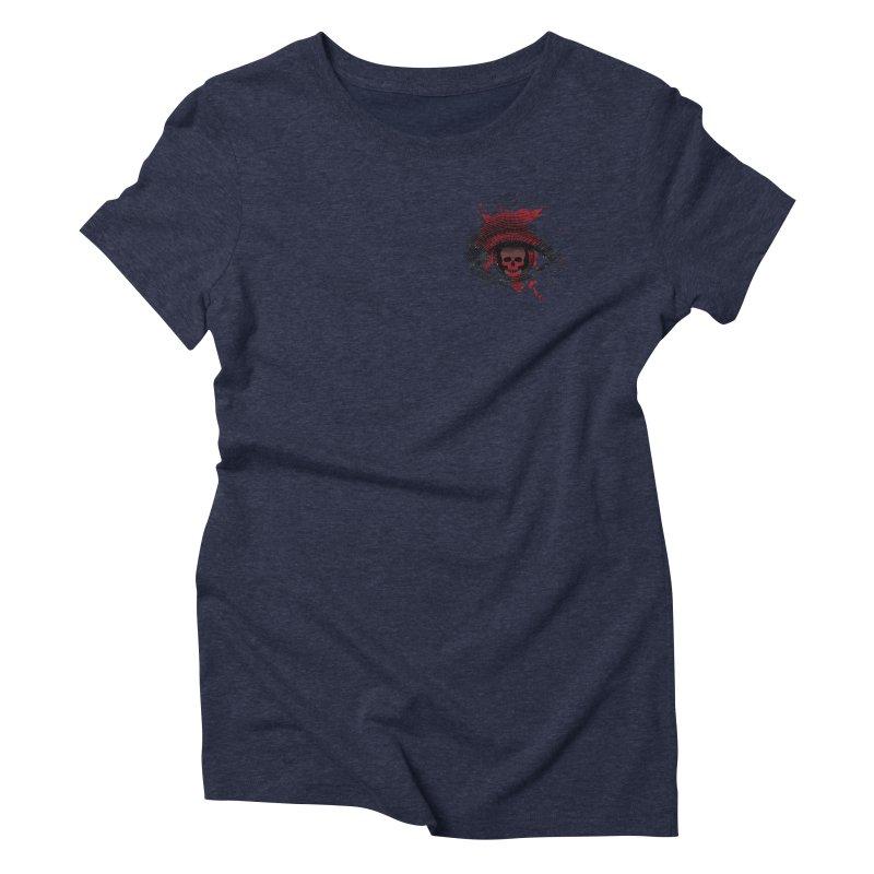 Bloodshot Pocket Sized Women's Triblend T-Shirt by Eye for an Eye Merch Shop