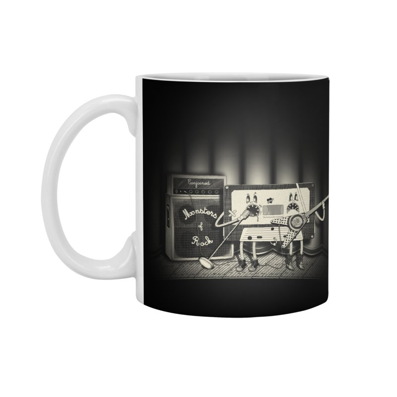 Conjoined Monsters of Rock Accessories Mug by eyejacker's shop