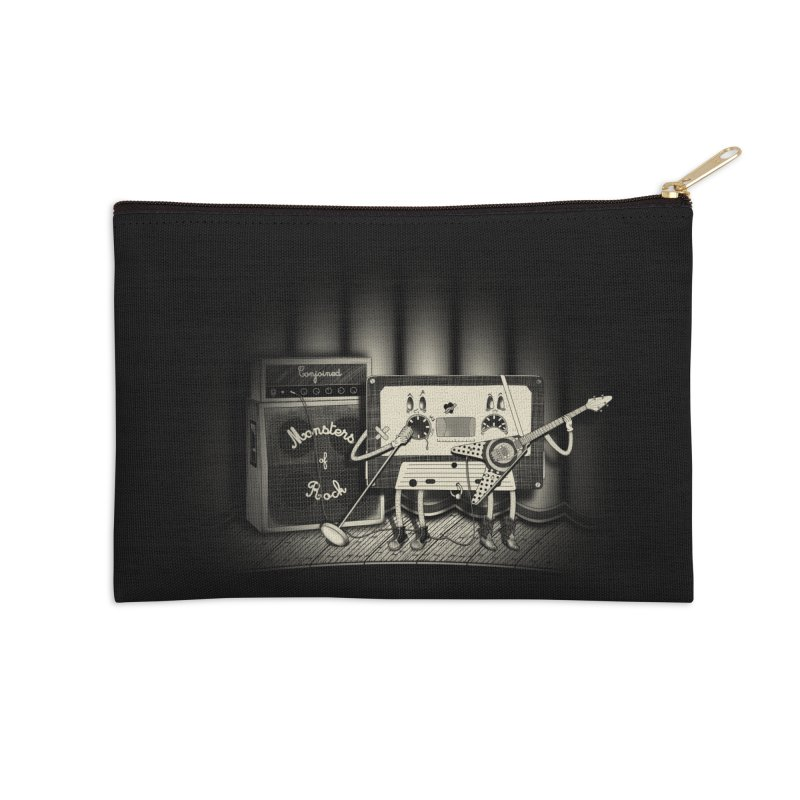 Conjoined Monsters of Rock Accessories Zip Pouch by eyejacker's shop