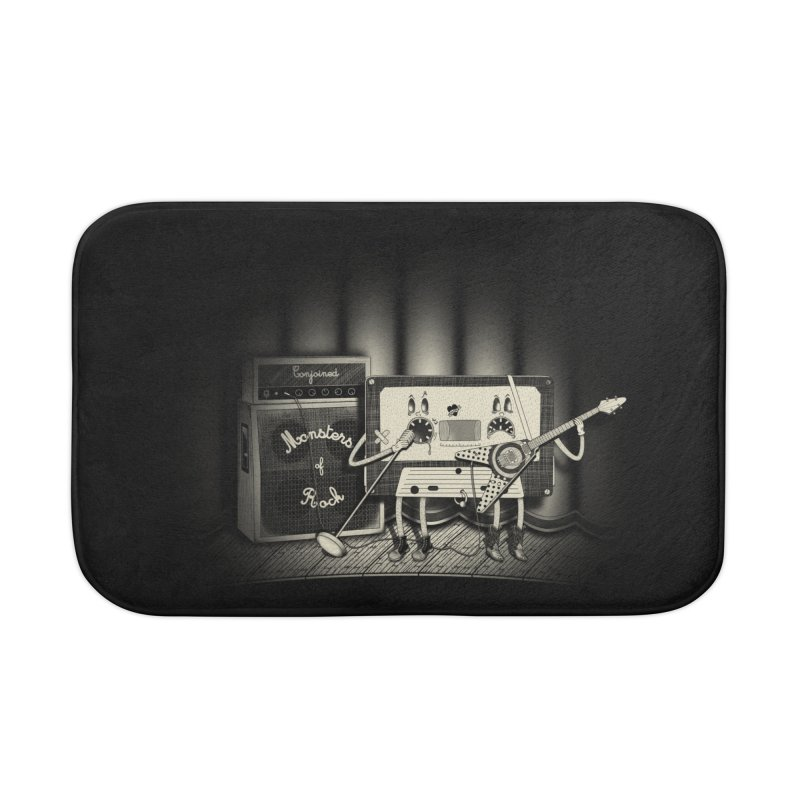 Conjoined Monsters of Rock Home Bath Mat by eyejacker's shop