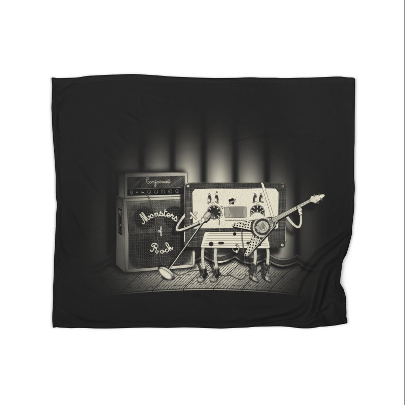 Conjoined Monsters of Rock Home Blanket by eyejacker's shop