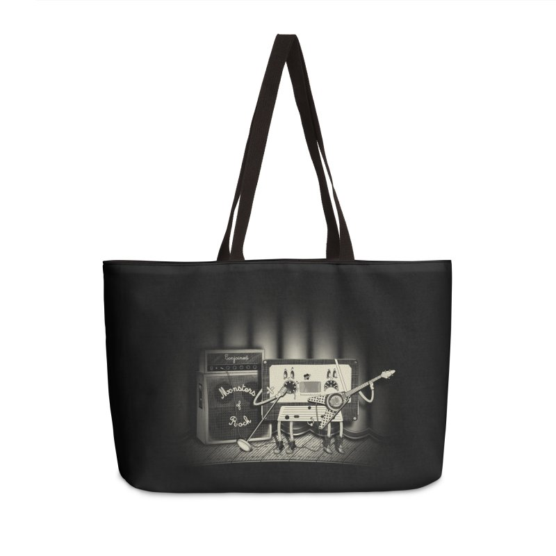 Conjoined Monsters of Rock Accessories Weekender Bag Bag by eyejacker's shop