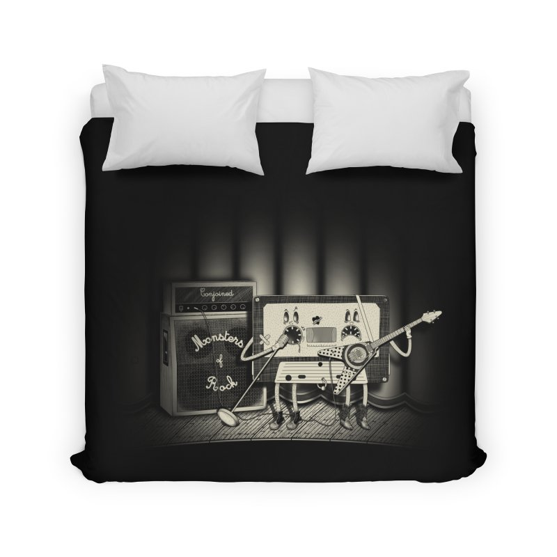 Conjoined Monsters of Rock Home Duvet by eyejacker's shop