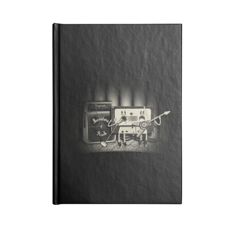 Conjoined Monsters of Rock Accessories Notebook by eyejacker's shop