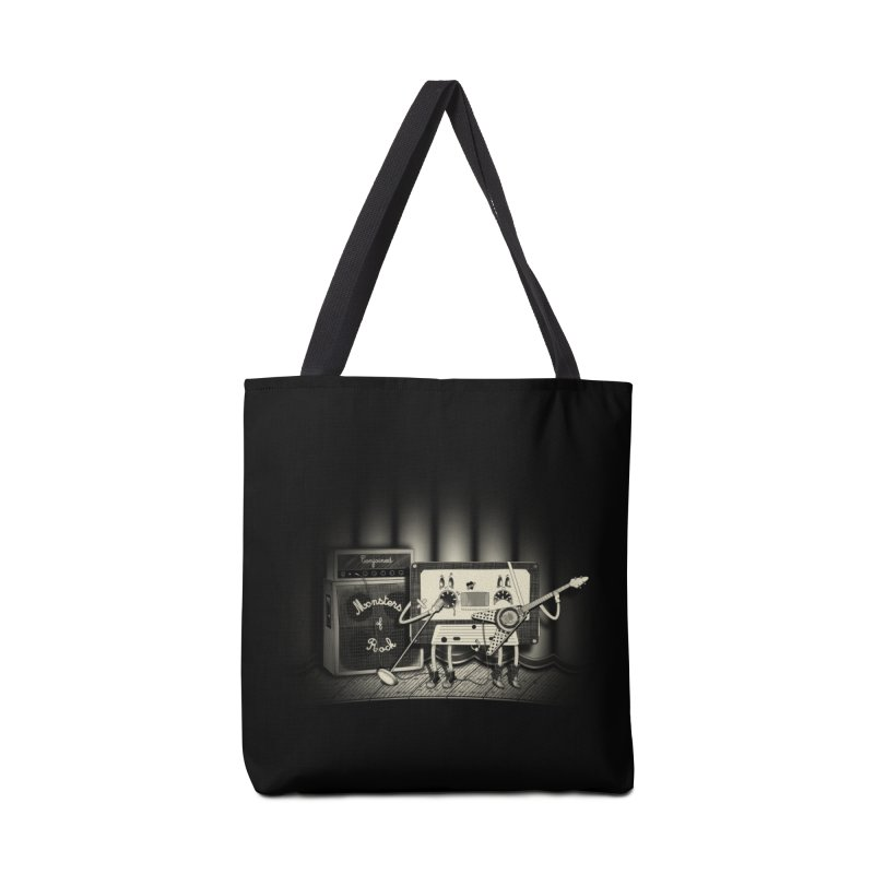 Conjoined Monsters of Rock Accessories Tote Bag Bag by eyejacker's shop