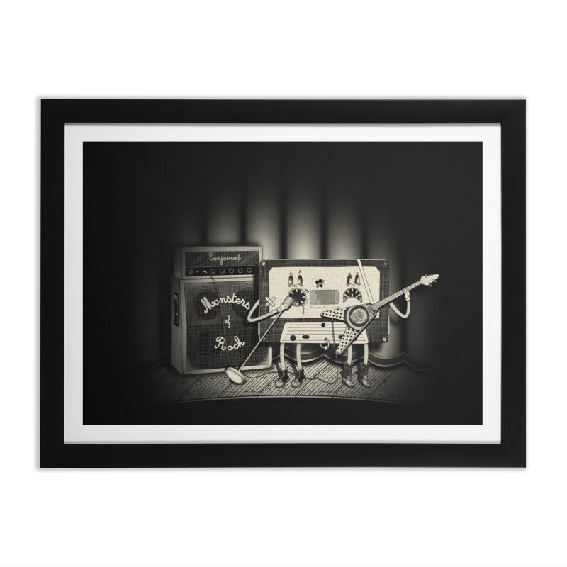 Conjoined Monsters of Rock Home Framed Fine Art Print by eyejacker's shop