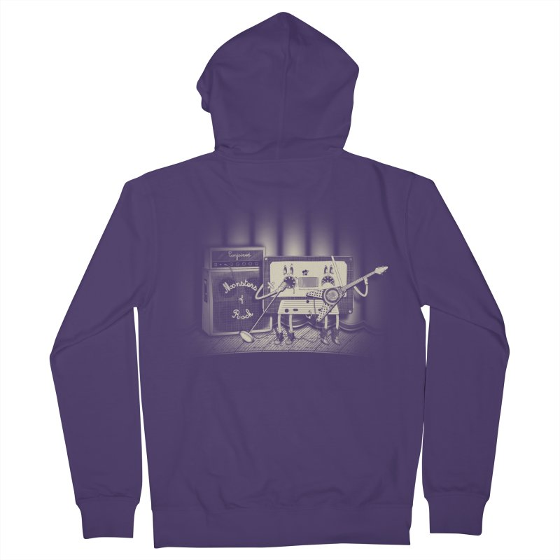 Conjoined Monsters of Rock Women's French Terry Zip-Up Hoody by eyejacker's shop