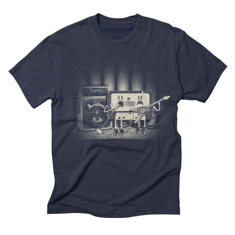 Conjoined Monsters of Rock Men's Triblend T-shirt by eyejacker's shop