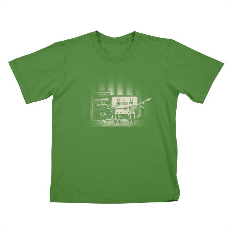 Conjoined Monsters of Rock Kids T-shirt by eyejacker's shop