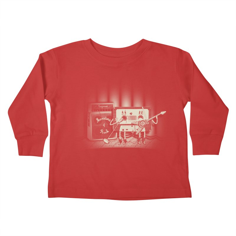 Conjoined Monsters of Rock Kids Toddler Longsleeve T-Shirt by eyejacker's shop