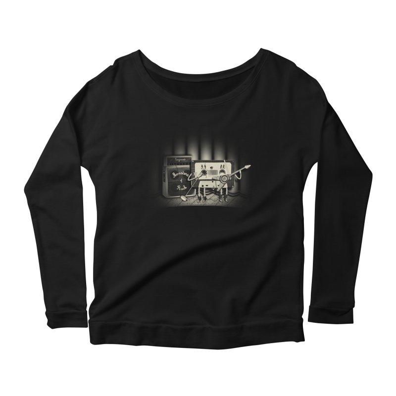 Conjoined Monsters of Rock Women's Scoop Neck Longsleeve T-Shirt by eyejacker's shop