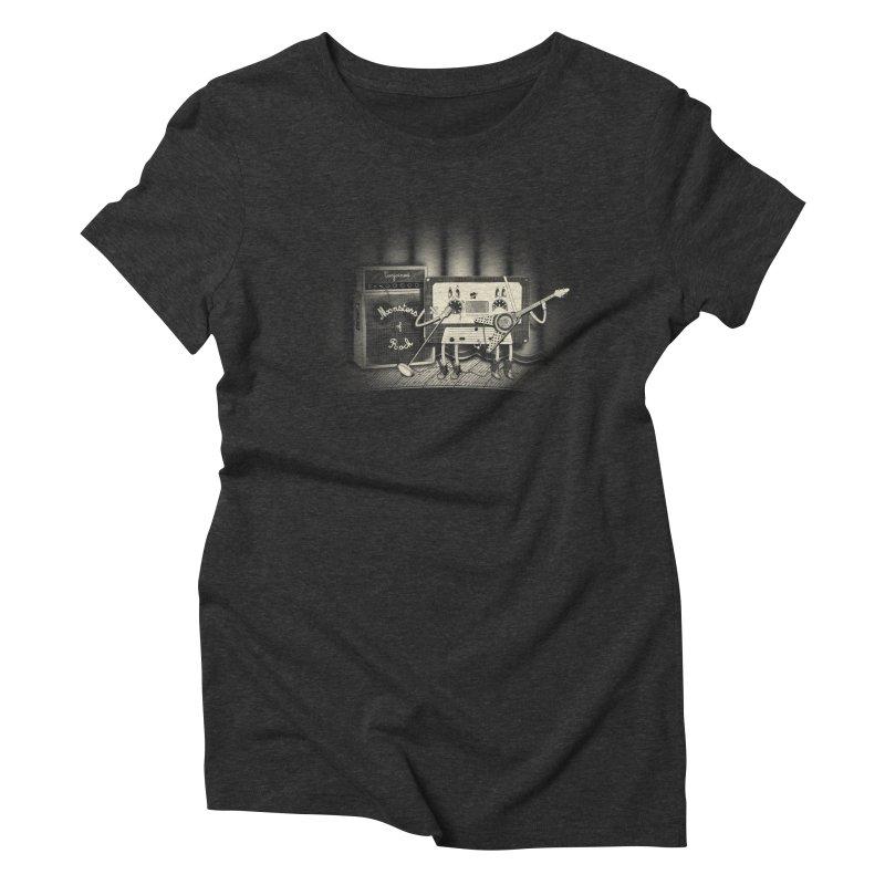 Conjoined Monsters of Rock Women's Triblend T-Shirt by eyejacker's shop