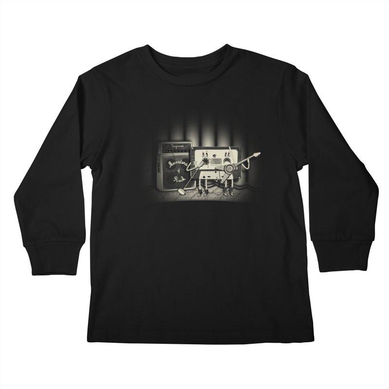 Conjoined Monsters of Rock Kids Longsleeve T-Shirt by eyejacker's shop