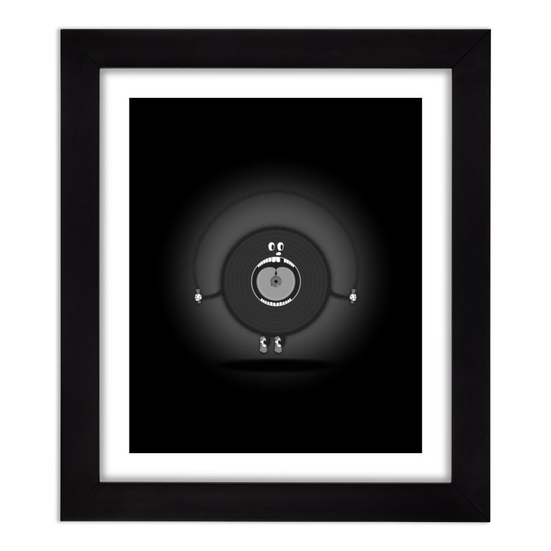 Old Skipping Record Home Framed Fine Art Print by eyejacker's shop