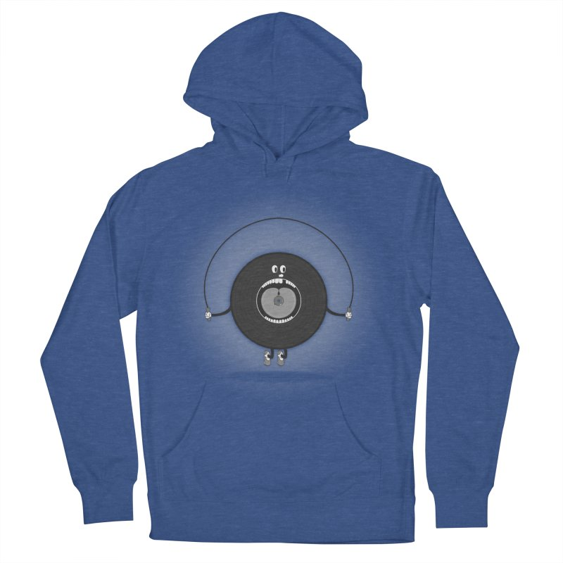 Old Skipping Record Women's Pullover Hoody by eyejacker's shop