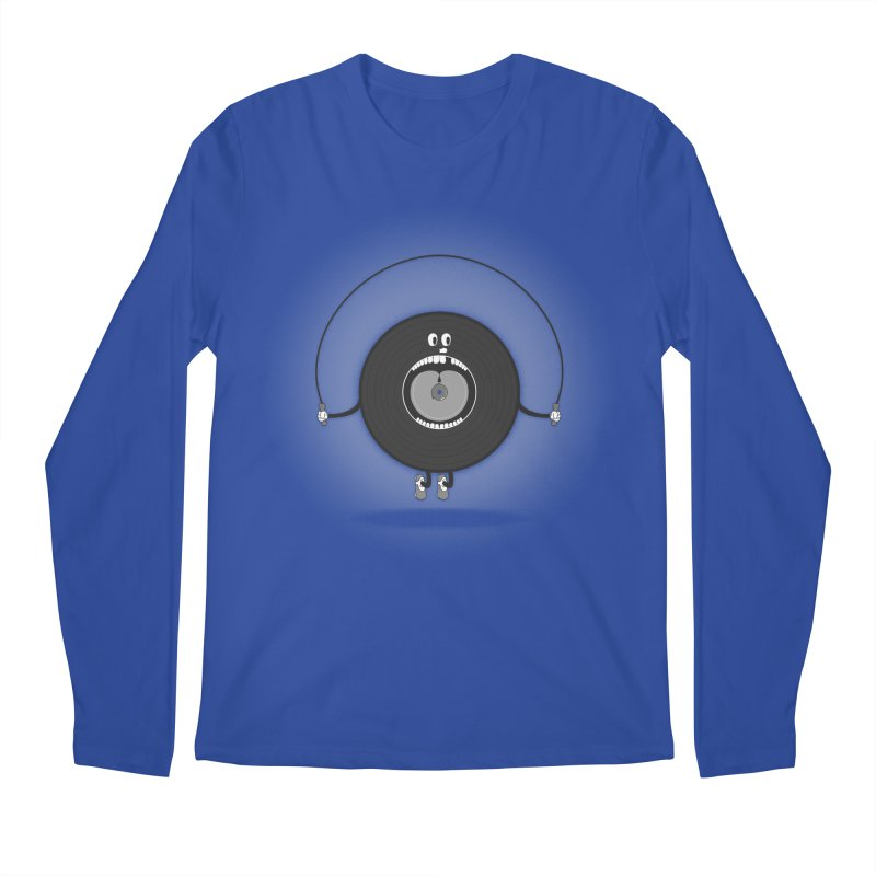 Old Skipping Record Men's Longsleeve T-Shirt by eyejacker's shop
