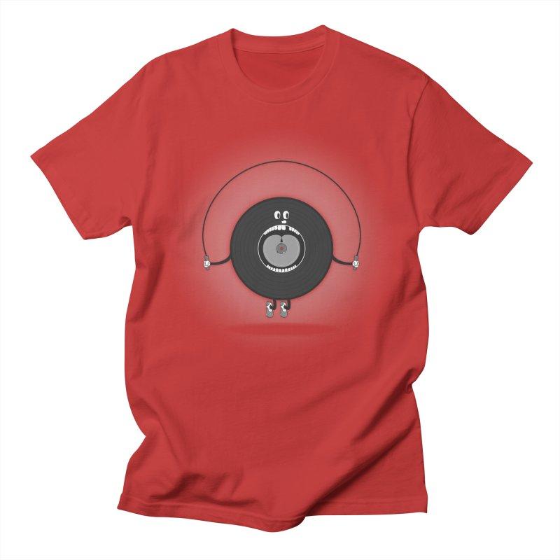 Old Skipping Record Women's Regular Unisex T-Shirt by eyejacker's shop