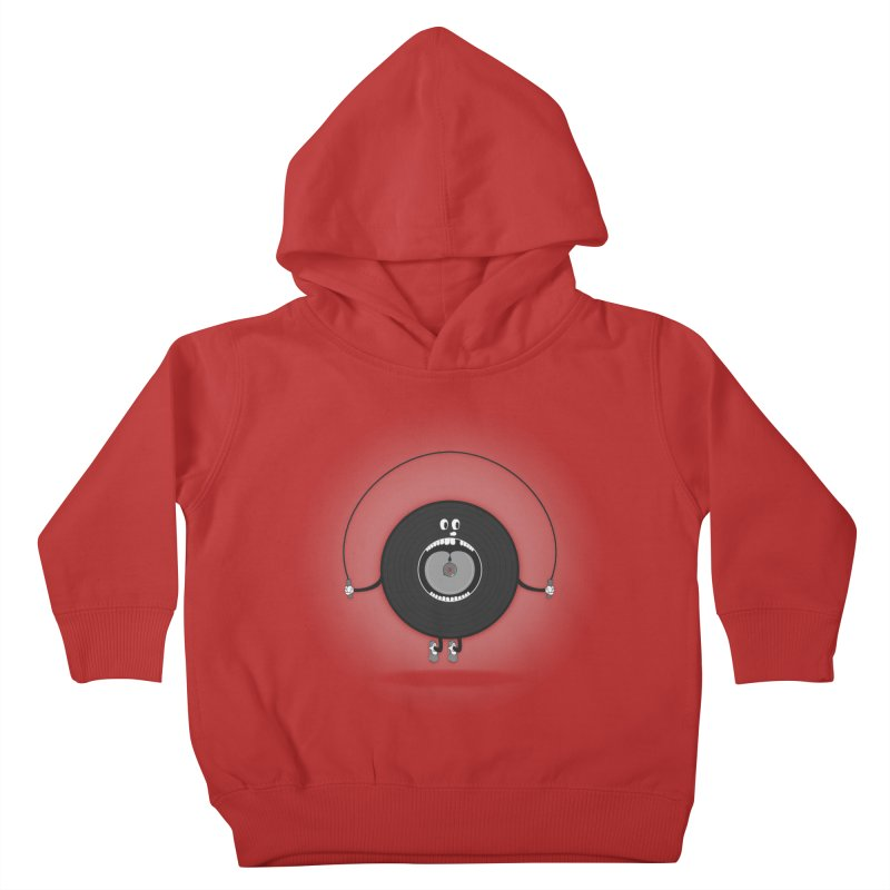 Old Skipping Record Kids Toddler Pullover Hoody by eyejacker's shop