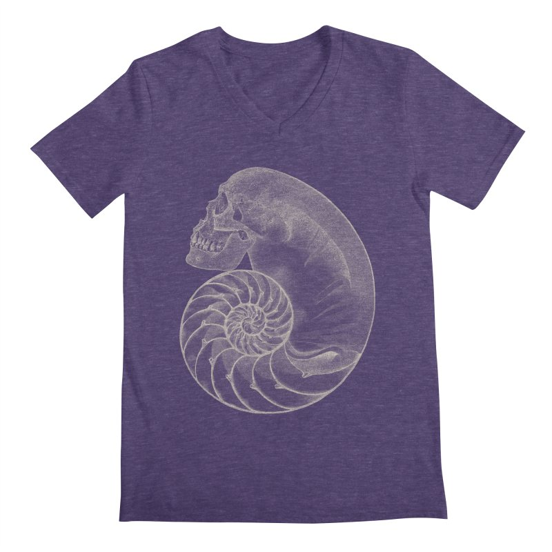 Sea'sHell Men's Regular V-Neck by eyejacker's shop